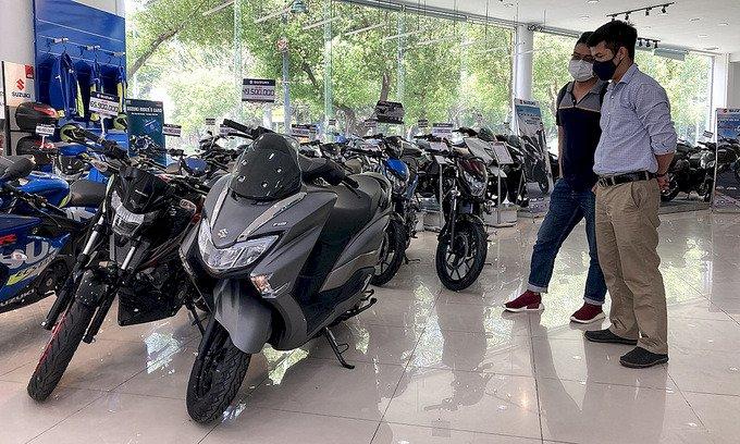 Người Việt mua hơn 1,3 triệu xe máy nửa đầu 2021
