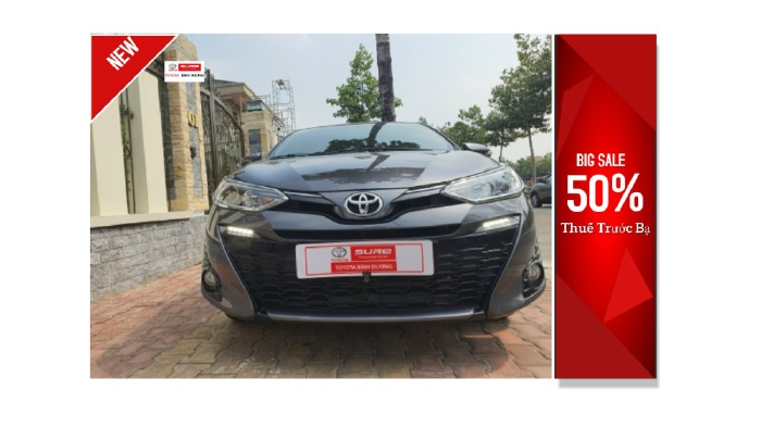 📌Thanh lý Toyota Yaris 1.5G CVT xe nhập- giá tốt