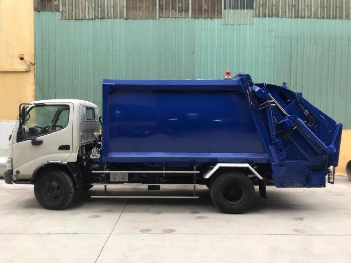 Bán xe ép chở rác 6 khối hino 300