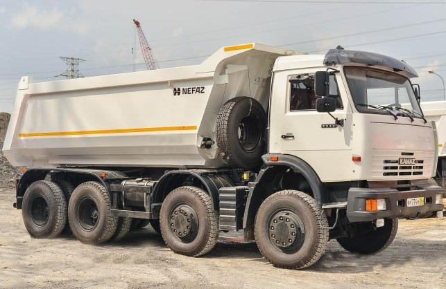 Xe Ben Kamaz 6540 nhập Khẩu Châu Âu Giá ưu đãi mùa dịch
