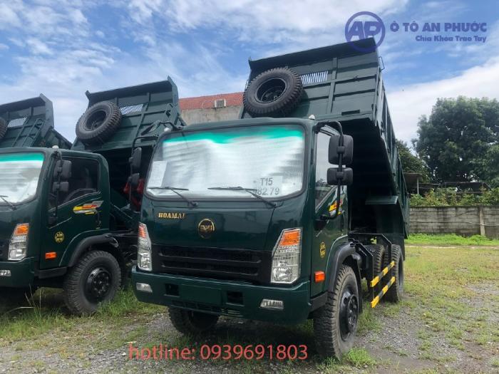 Xe Ben Hoa Mai ga Cơ tải 8T