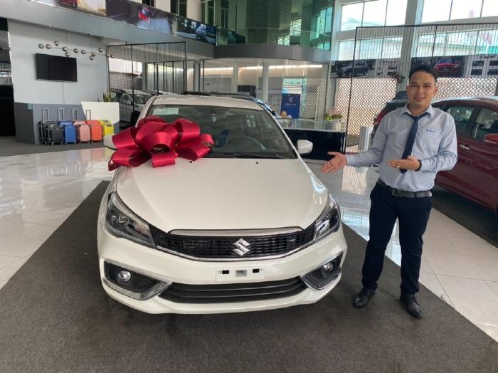 Xe Suzuki Ciaz 2020 sedan 5 chỗ nhập Thái, số tự đông, giảm 65 triệu
