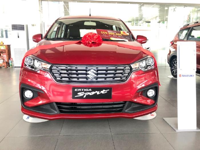 Bán xe Suzuki Ertiga Sport 7 chỗ Đờ 2021 Nhập khẩu Giá cạnh tranh