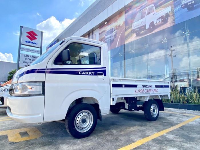 Bán xe Suzuki Carry Pro Thùng Lửng 810kg Đời 2021 Nhập khẩu