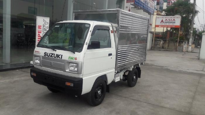 Bán xe Suzuki Carry Truck thùng kín inox giá rẻ