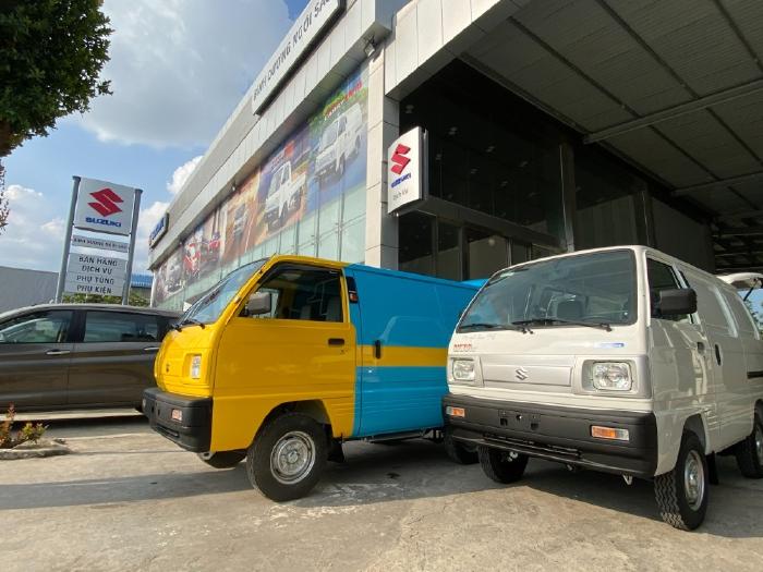 Suzuki Blind Van - 24/24 - luôn đồng hành cùng bạn - mọi lúc - mọi nơi.