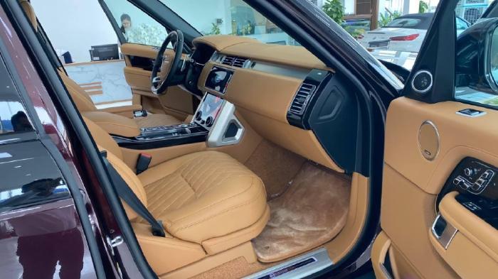 Bán Range Rover SV Autobiography 2 màu đỏ đen, sản xuất 2021, Xe giao ngay.